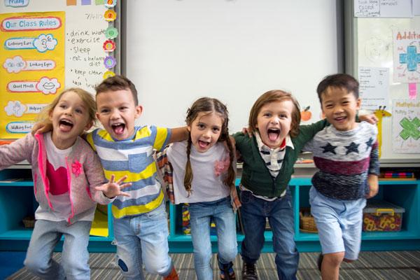 happy kids elementary school
