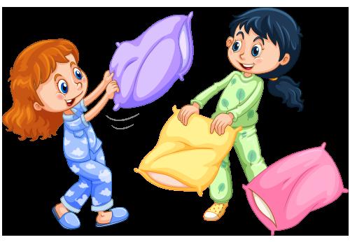 pajama party kids