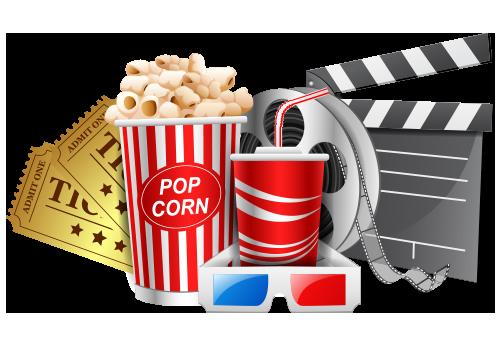 popcorn movie with fun