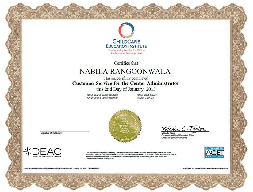 rrc certificate 3