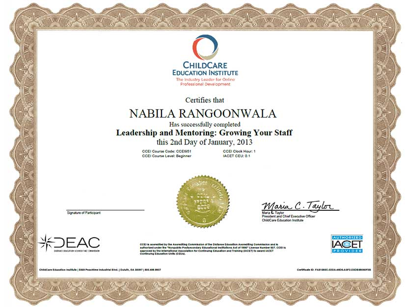 rrc certificate 5