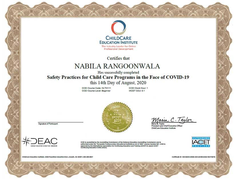 rrc certificate 6