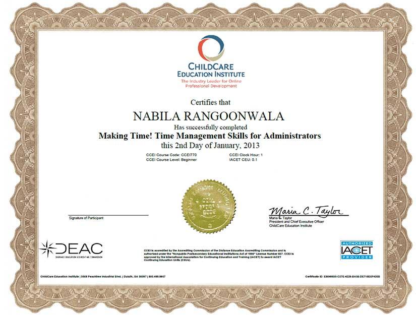 rrc certificate 8