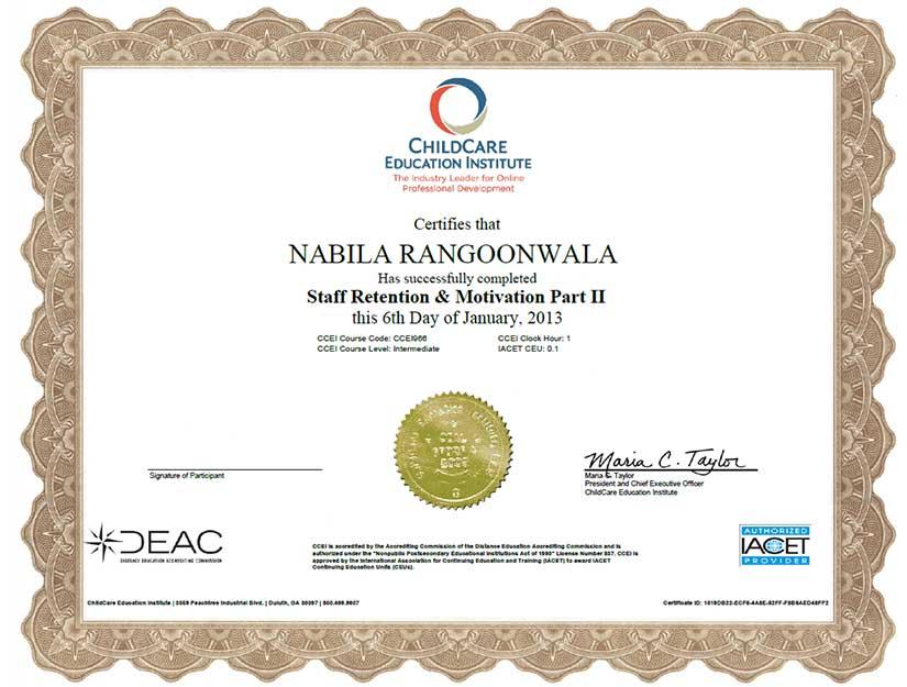 rrc certificate 9 1