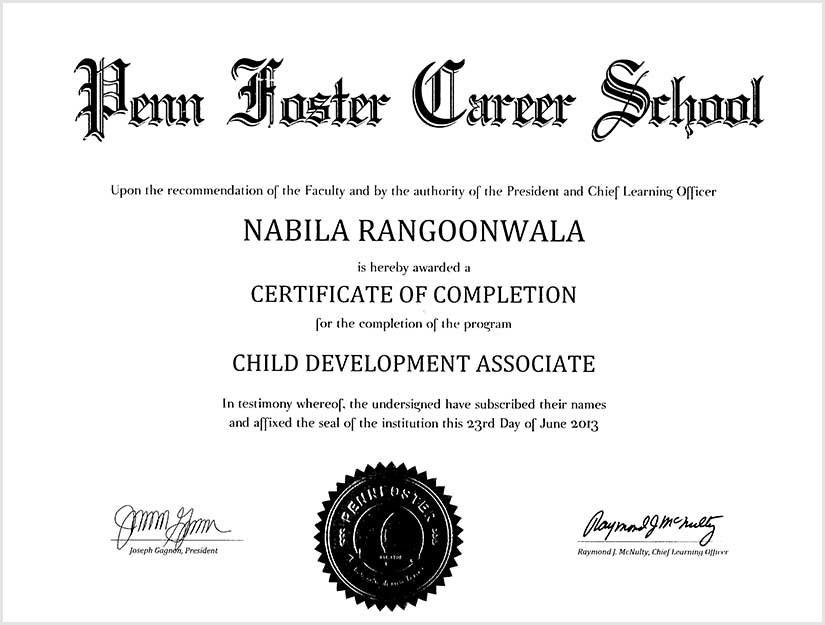 rrc certificate 01