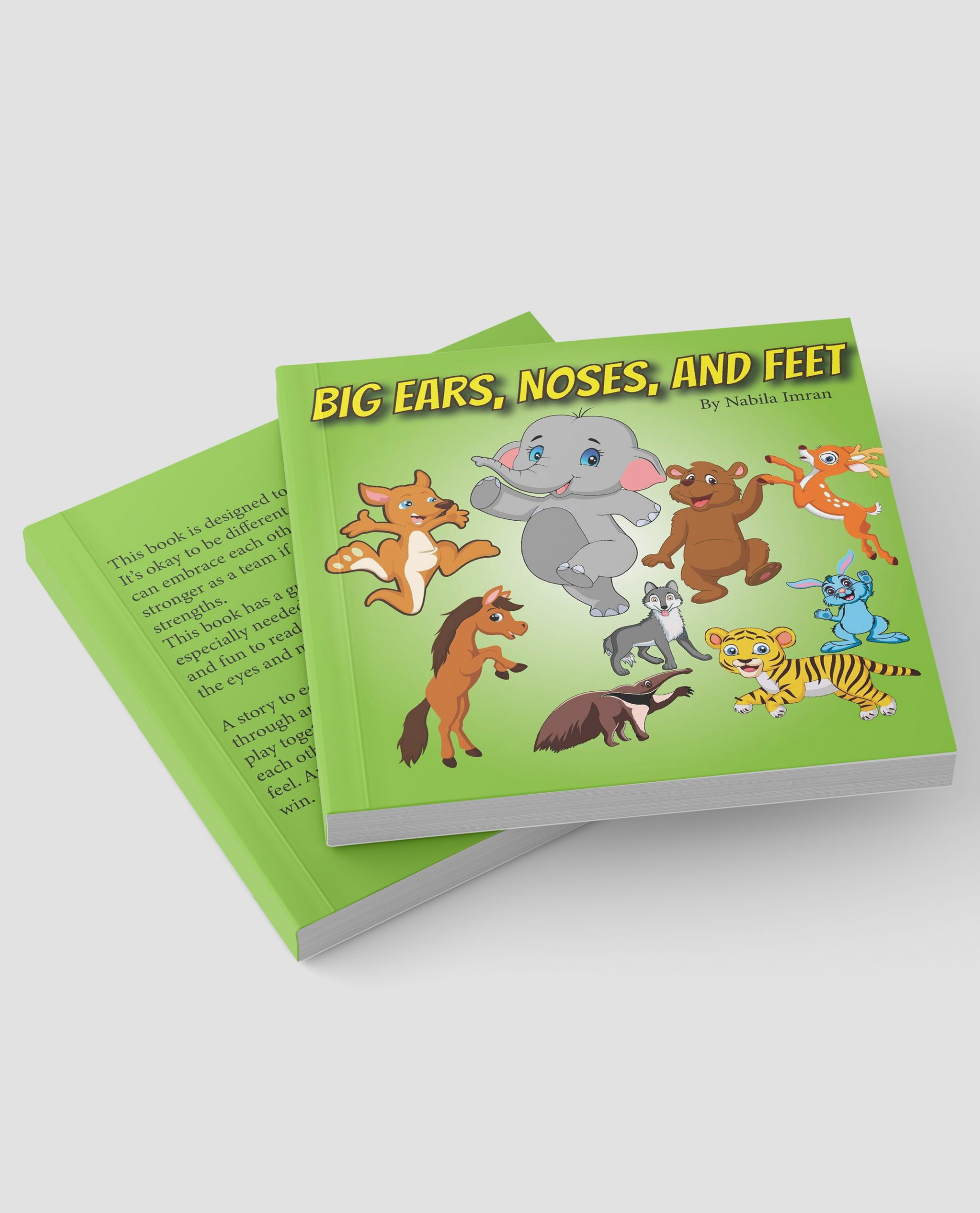 Big Ears Noses and Feet Book