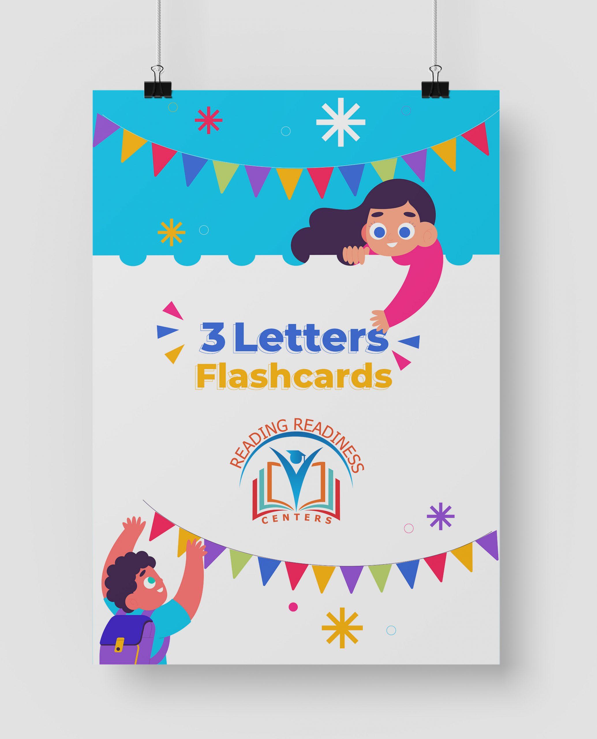 Letter Flashcards in Mockup